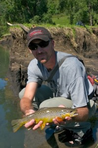 Jason Skoda, Northeast Iowa Fly Fishing Guide